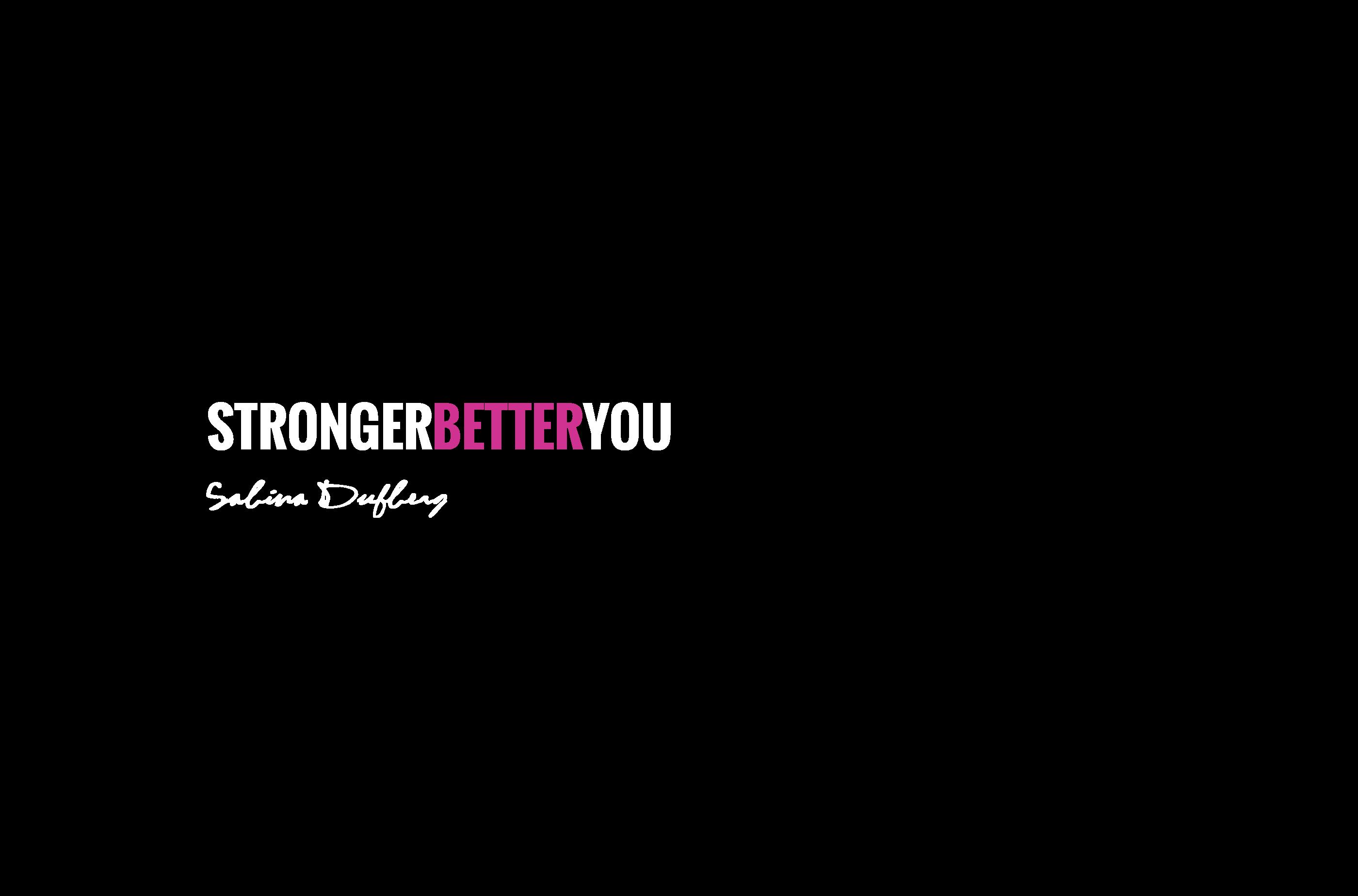 Stronger Better You logo
