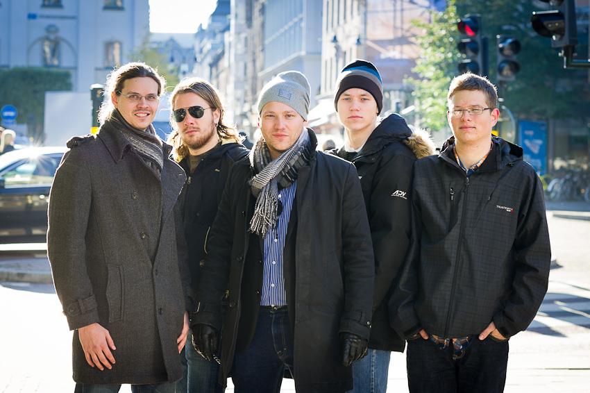 Markus Ekblad, Robin Eklund, Niklas Nilsson, John Eriksson & Anton Ahrenberg